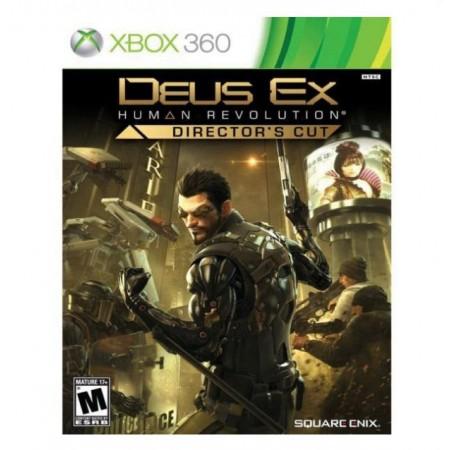 JOGO DEUS EX DIRECTORS CUT XBOX 360