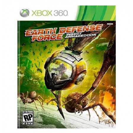 JOGO EARTH DEFENSE FORCE INSECT ARMAGEDDON XBOX 360