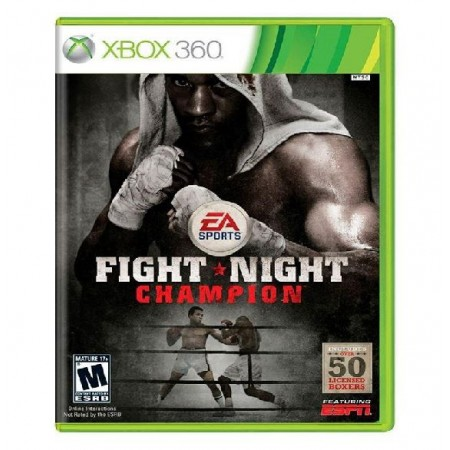 JOGO FIGHT NIGHT CHAMPION XBOX 360