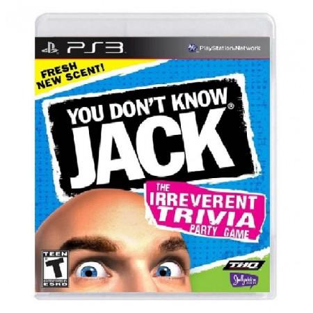JOGO YOU DONT KNOW JACK PS3