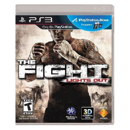 JOGO THE FIGHT LIGHTS OUT PS3