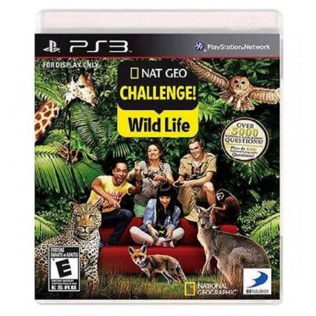 JOGO NAT GEO CHALLENGE WILD LIFE PS3