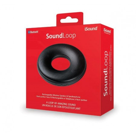 CAIXA DE SOM ISOUND SOUND LOOP - PRETO