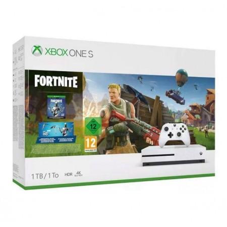 CONSOLE XBOX ONE S 1TB BUNDLE FORTNITE BRANCO