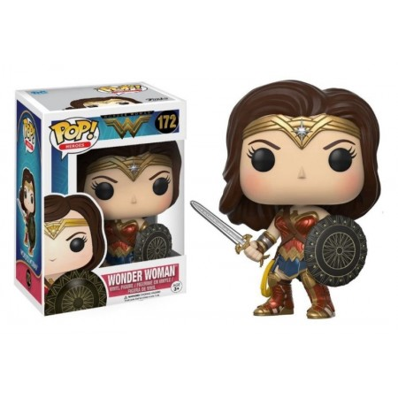 BONECO FUNKO POP WONDER WOMAN 172