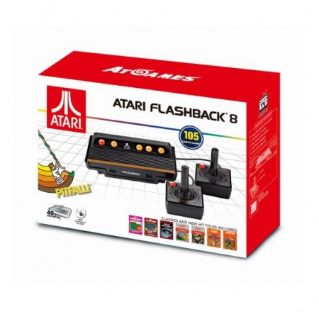 CONSOLE ATARI FLASHABACK 8 NEW