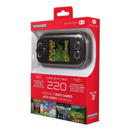 CONSOLE GAME X PORTABLE DREAMGEAR COM 220 JOGOS - 2580