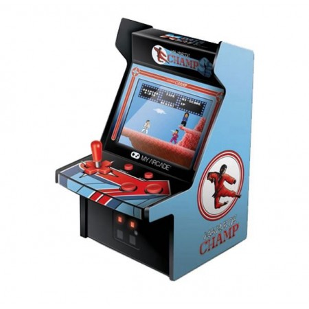 CONSOLE MY ARCADE GAME KARATE CHAMP 3204