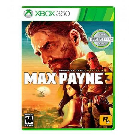 JOGO MAX PAYNE 3 XBOX 360