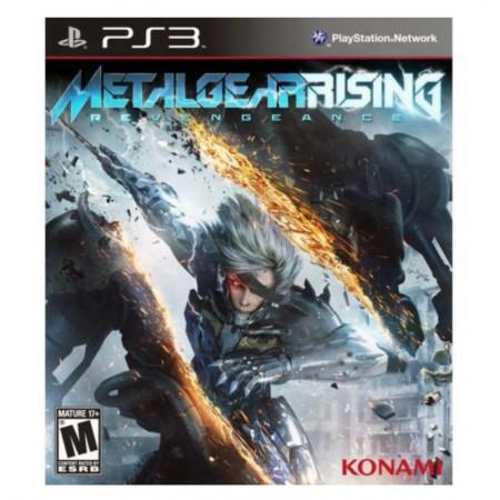 JOGO METAL GEAR RISING REVENGEANCE PS3